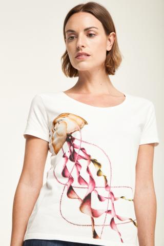 T-shirt stampa meduse