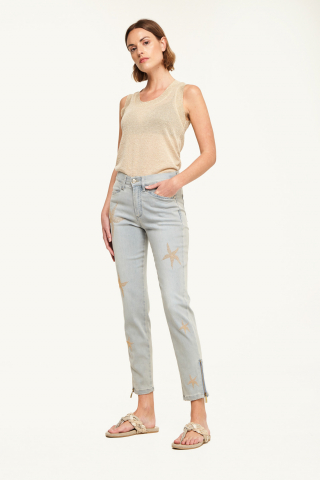 Slim stars trousers