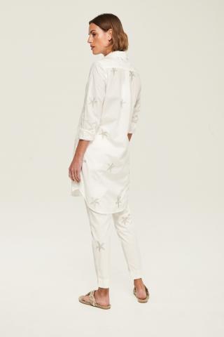 Long-sleeves stars blouse